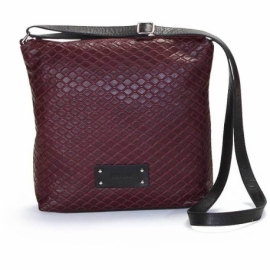 GRATA BORDEAUX ACROSS BODY BAG