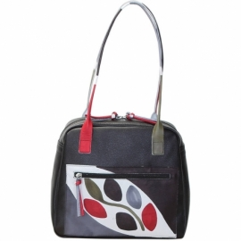 BORSA WINTER NERO RAMO