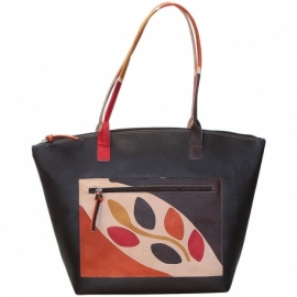 WINTER BROWN RAMO HANDBAG