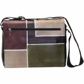 BUSINESS CAMOUFLAGE SQUARE ACROSS BODY BAG