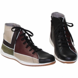 MAN SNEAKERS ACQUERELLO CAMOUFLAGE SQUARE