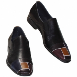 MAN SHOES ACQUERELLO NERO SPIRE