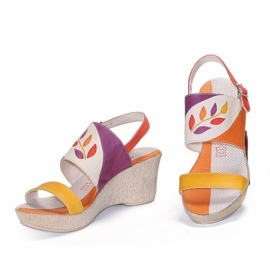 ACQUERELLO PLATINO RAMO SANDALS