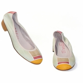 ACQUERELLO OASI SCALA BALLERINA PUMPS