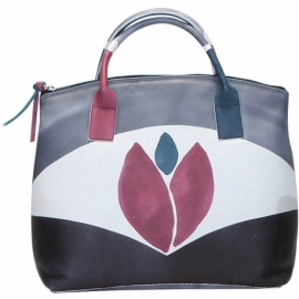 ACQUERELLO WINE TULIPANO HANDBAG