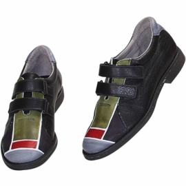 ACQUERELLO BLACK SCALA SNEAKERS