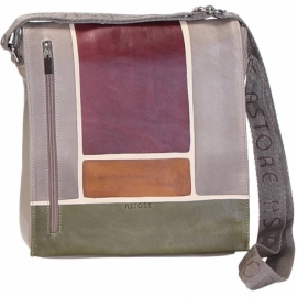 BORSA TRACOLLA BUSINESS TAUPE SCALA