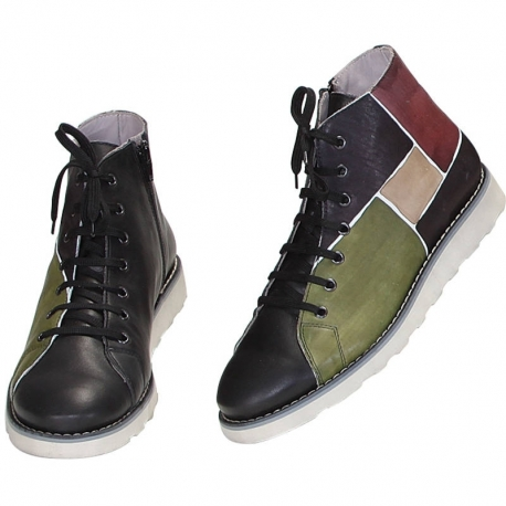 MAN SNEAKERS ACQUERELLO CAMOUFLAGE SPIRE