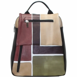 BUSINESS CAMOUFLAGE SQUARE BACKPACK