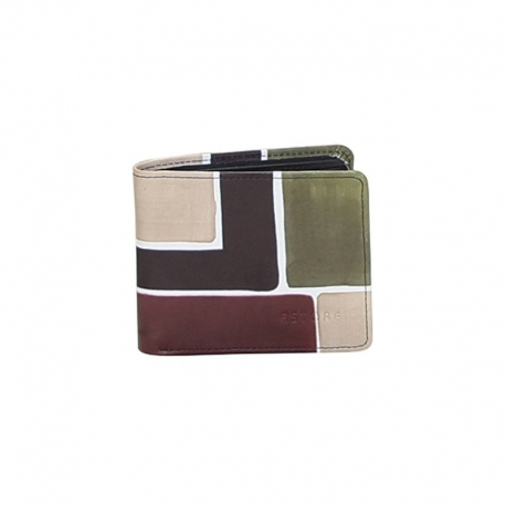 CAMOUFLAGE SQUARE MAN WALLET