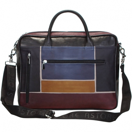 BORSA TRACOLLA BUSINESS GR/NERO SCALA