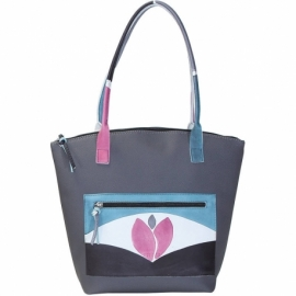 WINTER GRIGIO TULIPANO HANDBAG