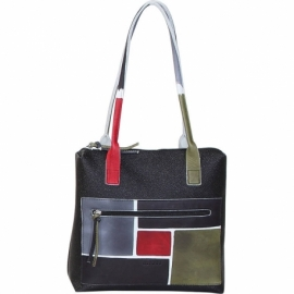 WINTER NERO SPIRE HANDBAG