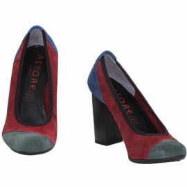 SHOES SESTIERE CAMOSCIO BORDEAUX