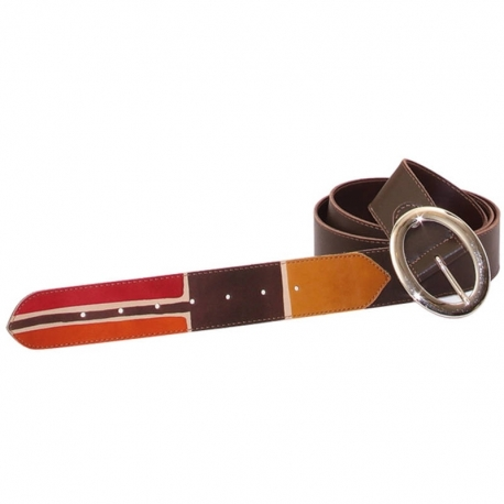 BELT ACQUERELLO BROWN BETA