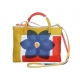 ACQUERELLO BLUE FLOWER HANDBAG