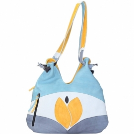 ACQUERELLO SOLE TULIPANO HANDBAG