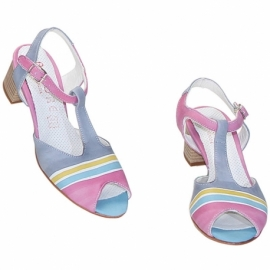 ACQUERELLO ICE ALBA SANDALS
