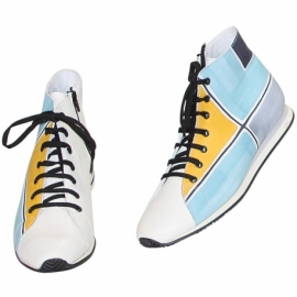 MAN SNEAKERS SOLE GEOMETRICO