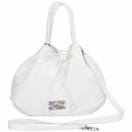 MURRINE WHITE HANDBAG