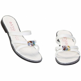 MURRINE WHITE MULES