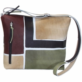 ACQUERELLO CAMOUFLAGE SQUARE ACROSS BODY BAG