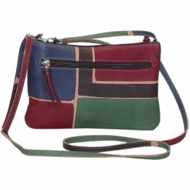 ACQUERELLO MARRONE SQUARE SMALL HANDBAG