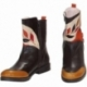ACQUERELLO BROWN RAMO ANKLE BOOTS