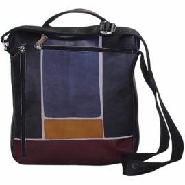 BUSINESS GR/NERO SCALA ACROSS BODY BAG