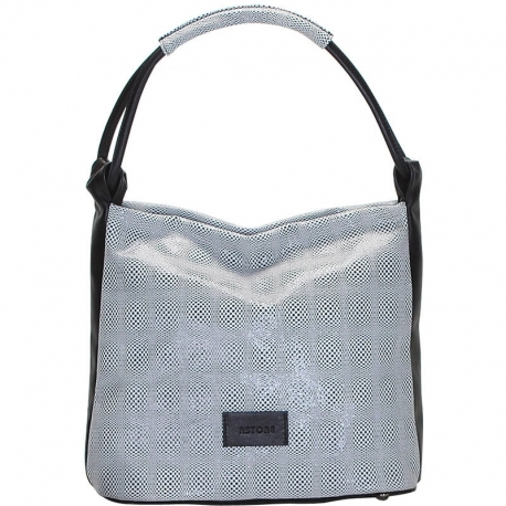 CITY PULL BLACK SHOULDER BAG