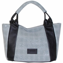 CITY PULL BLACK HANDBAG