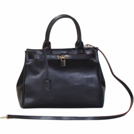 PIAZZA SAN MARCO BLACK HANDBAG