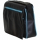 BUSINESS LIGHT BLUE AND BLACK ACROSS BODY BAG
