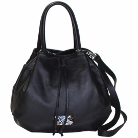 MURRINE BLACK HANDBAG