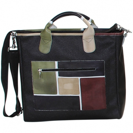 TRAVEL CAMOUFLAGE SPIRE HANDBAG