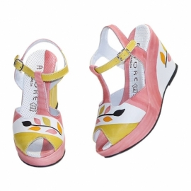 SANDALS ACQUERELLO PINK RAMO