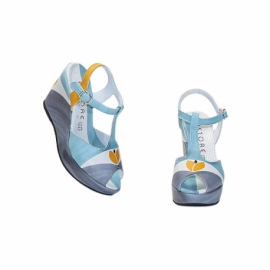 SANDALS ACQUERELLO SOLE TULIPANO