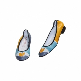 ACQUERELLO SOLE TULIPANO BALLERINA PUMPS