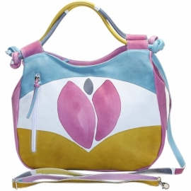 ACQUERELLO ICE TULIPANO HANDBAG