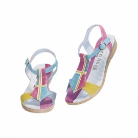 ACQUERELLO ICE GEOMETRICO SANDALS
