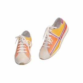 ACQUERELLO PLATINO GEOMETRICO WOMAN SNEAKERS