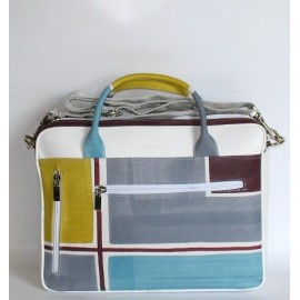 BUSINESS NEUTRAL GEOMETRIC BAG