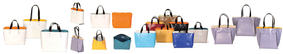 Astore leather handbags and shoes