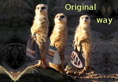 Original style leather handbags